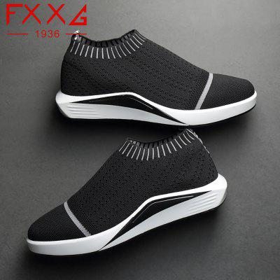 Sports and Leisure Socks ShoesCasual Shoes<br>Sports and Leisure Socks Shoes<br><br>Available Size: 38?39?40?41?42?43?44<br>Closure Type: Slip-On<br>Embellishment: Metal<br>Gender: For Men<br>Outsole Material: Rubber<br>Package Contents: 1xshoes(pair)<br>Pattern Type: Solid<br>Season: Summer, Winter, Spring/Fall<br>Toe Shape: Round Toe<br>Toe Style: Closed Toe<br>Upper Material: Cloth<br>Weight: 1.7600kg