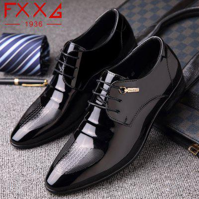 Business Formal Leather ShoesFormal Shoes<br>Business Formal Leather Shoes<br><br>Available Size: 38?39?40?41?42?43?44<br>Closure Type: Lace-Up<br>Embellishment: Metal<br>Gender: For Men<br>Occasion: Dress<br>Outsole Material: Rubber<br>Package Contents: 1xshoes(pair)<br>Pattern Type: Solid<br>Season: Summer, Winter, Spring/Fall<br>Toe Shape: Round Toe<br>Toe Style: Closed Toe<br>Upper Material: PU<br>Weight: 1.5600kg