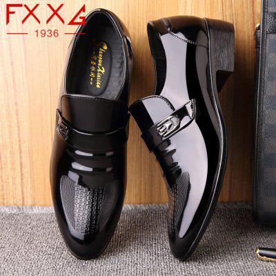 FXXG 1936 Male Stylish Polished Leather ShoesFormal Shoes<br>FXXG 1936 Male Stylish Polished Leather Shoes<br><br>Available Size: 38?39?40?41?42?43?44<br>Closure Type: Lace-Up<br>Embellishment: Metal<br>Gender: For Men<br>Outsole Material: Rubber<br>Package Contents: 1xshoes(pair)<br>Pattern Type: Solid<br>Season: Spring/Fall, Summer, Winter<br>Toe Shape: Round Toe<br>Toe Style: Closed Toe<br>Upper Material: PU<br>Weight: 1.5600kg