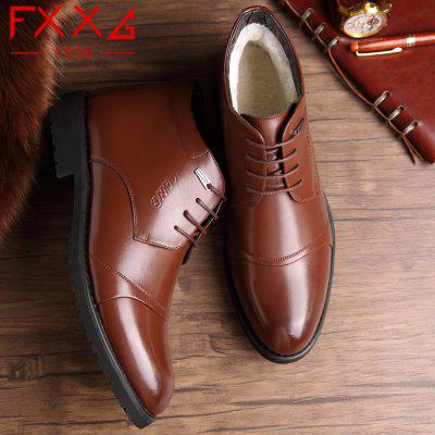 High Plush Business Leather ShoesFormal Shoes<br>High Plush Business Leather Shoes<br><br>Available Size: 38?39?40?41?42?43?44<br>Closure Type: Lace-Up<br>Embellishment: Metal<br>Gender: For Men<br>Occasion: Casual<br>Outsole Material: Rubber<br>Package Contents: 1xshoes(pair)<br>Pattern Type: Solid<br>Season: Winter<br>Toe Shape: Round Toe<br>Toe Style: Closed Toe<br>Upper Material: Microfiber<br>Weight: 1.5600kg