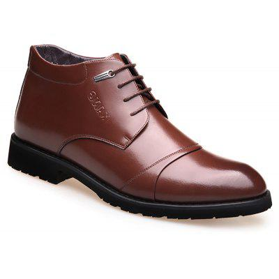 High Plush Business Leather Shoes