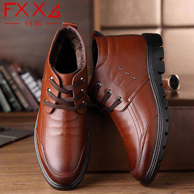 Plush Business Leather ShoesCasual Shoes<br>Plush Business Leather Shoes<br><br>Available Size: 38?39?40?41?42?43?44<br>Closure Type: Lace-Up<br>Embellishment: Metal<br>Gender: For Men<br>Occasion: Casual<br>Outsole Material: Rubber<br>Package Contents: 1xshoes(pair)<br>Pattern Type: Solid<br>Season: Summer, Winter, Spring/Fall<br>Toe Shape: Round Toe<br>Toe Style: Closed Toe<br>Upper Material: Microfiber<br>Weight: 1.5600kg