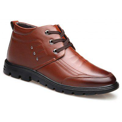 Plush Business Leather Shoes