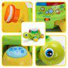 Bilingual Musical Turtle Baby Toy - GREEN