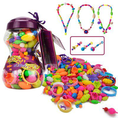 NuKied Pop Arty Beads Kid Toy 252PCS