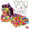 NuKied Pop Arty Beads Kid Toy 252PCS - PURPLE