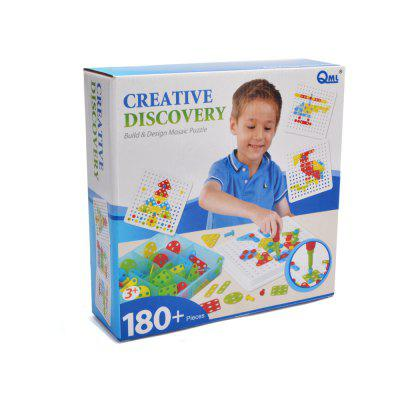 DIY Mosaic Puzzles Educatioinal Toy