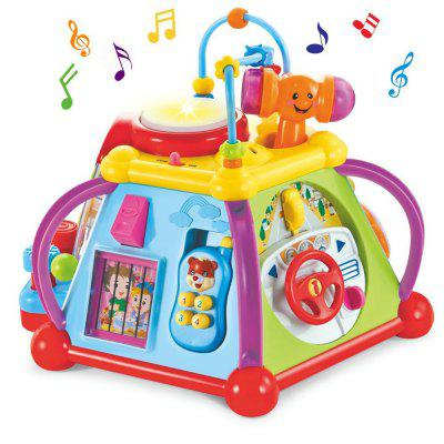 Musical Cube Play Learn Educational Toy