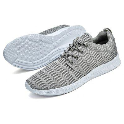 Spring Sports Shoes MenS Trend Large Size Mesh Breathable ShoesMen's Sneakers<br>Spring Sports Shoes MenS Trend Large Size Mesh Breathable Shoes<br><br>Available Size: 39,40,41,42,43,44,45,46,47<br>Closure Type: Lace-Up<br>Feature: Breathable<br>Gender: For Men<br>Outsole Material: Rubber<br>Package Contents: 1 x shoes(pair)<br>Package Size(L x W x H): 32.00 x 18.50 x 12.00 cm / 12.6 x 7.28 x 4.72 inches<br>Package weight: 1.0000 kg<br>Pattern Type: Others<br>Season: Spring/Fall<br>Upper Material: PU