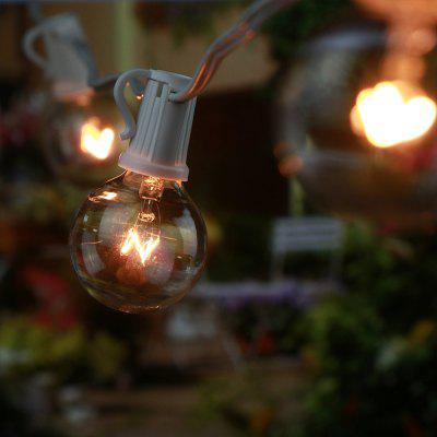 GMY Lighting G40 Patio Lights 29 Feet Fairy String Light 120V 5W Garden Holiday Party Decorate