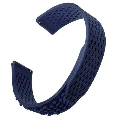 Silicone Loop Watchband 22MM for Samsung Gear S3 Frontier/S3 Classic