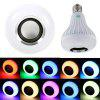 YWXLight E27/E26 Smart Wireless Bluetooth Speaker Music Playing Colorful LED Bulb AC 100 - 240V - RGB