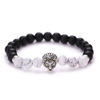 MGS1012 Natural Import White Stone Bracelet