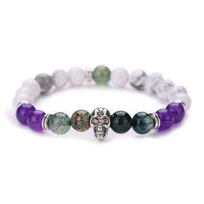 MGS1016 Natural Tophus Colorful Bracelet