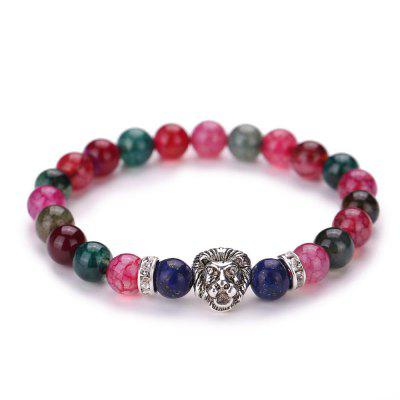 MGS1019 Natural Colorful Tourmaline Bracelet