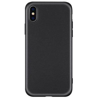 Carcasa de TPU mate anti huellas dactilares para iPhone X
