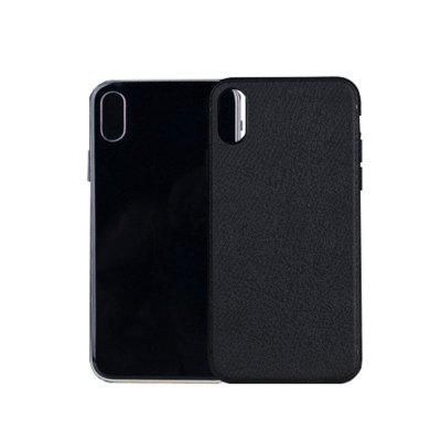 Business Lichee Pattern TPU Protective Case for iPhone X