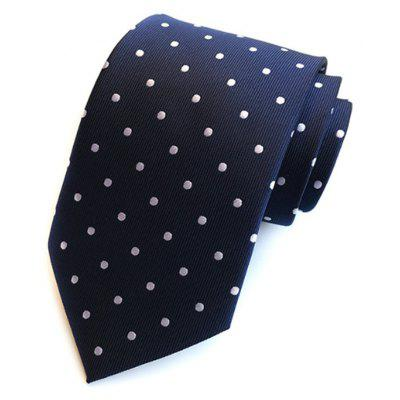 New High Quality Cloth Multi-Color Wave Point Men's Tie
