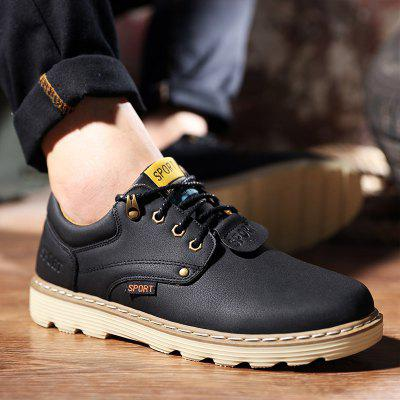 ZEACAVA Men Casual Outdoor Business Formal Wedding Leather Lace Up Trend Fashion ShoesFormal Shoes<br>ZEACAVA Men Casual Outdoor Business Formal Wedding Leather Lace Up Trend Fashion Shoes<br><br>Available Size: 39-44<br>Closure Type: Lace-Up<br>Embellishment: Ruched<br>Gender: For Men<br>Occasion: Office &amp; Career<br>Outsole Material: Rubber<br>Package Contents: 1 x Shoes (pair)<br>Pattern Type: Solid<br>Season: Spring/Fall<br>Toe Shape: Round Toe<br>Toe Style: Closed Toe<br>Upper Material: PU<br>Weight: 1.2000kg