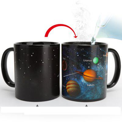 Heat Changing Mug Color Changing Cup Galaxy Magic Coffee Mug Disappearing  Heat Sensitive Porcelain Tea Cup 12 Ounce