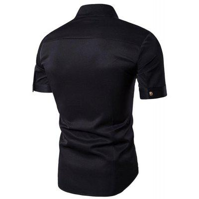 Mens Daily Casual Summer Standing Collar Short Sleeves ShirtMens Shirts<br>Mens Daily Casual Summer Standing Collar Short Sleeves Shirt<br><br>Collar: Turn-down Collar<br>Fabric Type: Polyester<br>Material: Cotton, Cotton Blends<br>Package Contents: 1 x Shirt<br>Shirts Type: Casual Shirts<br>Sleeve Length: Full<br>Weight: 0.2200kg