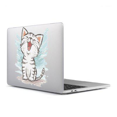 Computer Shell Laptop Case Keyboard Film Surface + Low for MacBook Air 13.3 inch 3D Cat Series 8