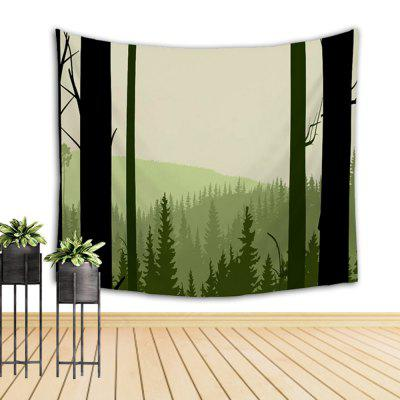 Green Tree Mountain Hand Painted Tapestry Walls Decorated with Beach BlanketsHome Gadgets<br>Green Tree Mountain Hand Painted Tapestry Walls Decorated with Beach Blankets<br><br>Available Color: Colormix<br>Materials: Cotton, Polyester<br>Package Contents: 1 x tapestry<br>Package Size(L x W x H): 10.00 x 10.00 x 40.00 cm / 3.94 x 3.94 x 15.75 inches<br>Package weight: 0.3000 kg<br>Product weight: 0.1800 kg