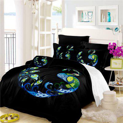 Embroidery Peacock Feathers Series Four Pieces of Bedding SK12Bedding Sets<br>Embroidery Peacock Feathers Series Four Pieces of Bedding SK12<br><br>Category: Bedding Set<br>For: All<br>Functions: Multi-functions<br>Material: Cotton, Polyester<br>Occasion: School, Bedroom<br>Package Contents: 1 x Duver Cover,2 x Pillowcases,1 x Bed Sheet<br>Package size (L x W x H): 28.00 x 26.00 x 5.00 cm / 11.02 x 10.24 x 1.97 inches<br>Package weight: 2.1500 kg