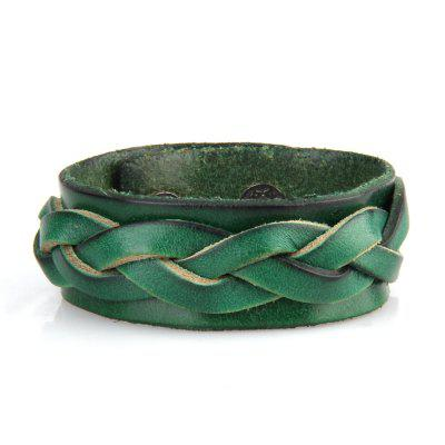 Hot Selling Hand Ornament Double Leather Braided Leather BraceletBracelets &amp; Bangles<br>Hot Selling Hand Ornament Double Leather Braided Leather Bracelet<br><br>Bracelet: None<br>Closure Type: Toggle clasps<br>Gender: Unisex<br>Item Type: Bangle<br>Length of Chain: 23cm<br>Package Contents: 1 x Bracelet<br>Package size (L x W x H): 23.00 x 4.00 x 3.00 cm / 9.06 x 1.57 x 1.18 inches<br>Package weight: 0.0230 kg<br>Product size (L x W x H): 23.00 x 2.50 x 3.00 cm / 9.06 x 0.98 x 1.18 inches<br>Product weight: 0.0220 kg<br>Shape/Pattern: Gemetric<br>Style: Vintage