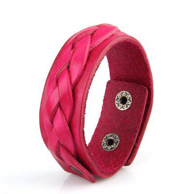 Hot Selling Hand Ornament Double Leather Braided Leather Bracelet