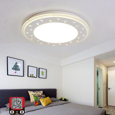 MY056 - 24W - W Cold White Ceiling Light AC 220VDiameter 42CMFlush Ceiling Lights<br>MY056 - 24W - W Cold White Ceiling Light AC 220VDiameter 42CM<br><br>Battery Included: No,Non-preloaded<br>Certifications: CE,RoHs<br>Color Temperature or Wavelength: 6500K<br>Dimmable: No<br>Features: Designers<br>Fixture Height ( CM ): 6.5CM<br>Fixture Length ( CM ): 42CM<br>Fixture Material: Acrylic,Metal<br>Fixture Width ( CM ): 42CM<br>Package Contents: 1 x Ceiling Light, 1 x English User Manual, 4 x Screw, 4 x Colloidal Particle<br>Package size (L x W x H): 49.00 x 49.00 x 14.00 cm / 19.29 x 19.29 x 5.51 inches<br>Package weight: 3.8000 kg<br>Product size (L x W x H): 42.00 x 42.00 x 6.50 cm / 16.54 x 16.54 x 2.56 inches<br>Product weight: 3.0000 kg<br>Shade Material: Acrylic<br>Stepless Dimming: No<br>Style: LED, Chic &amp; Modern, Artistic Style<br>Suggested Room Size: 15 - 20?<br>Suggested Space Fit: Living Room,Bedroom,Dining Room,Cafes,Indoors,Study Room<br>Type: Semi-Flushmount Lights<br>Voltage ( V ): AC220