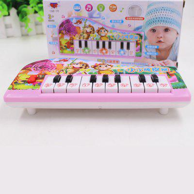 Children Cartoon Electronic Piano Intelligent ToysNovelty Toys<br>Children Cartoon Electronic Piano Intelligent Toys<br><br>Features: Musical, DIY Toy, Creative Toy<br>Materials: ABS, Other<br>Package Contents: 1 x Electronic Organ Toy<br>Package size: 20.00 x 10.00 x 4.00 cm / 7.87 x 3.94 x 1.57 inches<br>Package weight: 0.1300 kg<br>Series: Fashion,Lifestyle<br>Theme: Music,Other