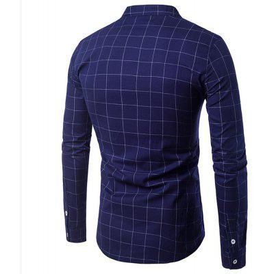 Fashion Large Plaid Small Leather Design Mens Casual Lapel Long-Sleeved ShirtMens Shirts<br>Fashion Large Plaid Small Leather Design Mens Casual Lapel Long-Sleeved Shirt<br><br>Collar: Turn-down Collar<br>Material: Spandex, Cotton Blends<br>Package Contents: 1?Shirt<br>Shirts Type: Casual Shirts<br>Sleeve Length: Full<br>Weight: 0.3800kg