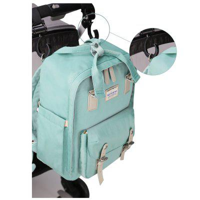 SUNVENO Diaper Bags Large Capacity Multifunctional  Nappy Backpack Fashion Handbagmaternity bags<br>SUNVENO Diaper Bags Large Capacity Multifunctional  Nappy Backpack Fashion Handbag<br><br>Color: Pink,Green,Navy<br>Feature: Waterproof<br>Material: Nylon<br>Package Contents: 1 x Bag<br>Package size (L x W x H): 40.00 x 30.00 x 15.00 cm / 15.75 x 11.81 x 5.91 inches<br>Package weight: 1.0000 kg<br>Product weight: 0.8100 kg<br>Rechargeable: No<br>Type: Just for Mom