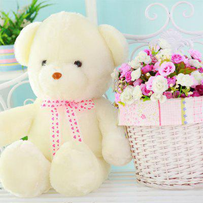 Cute Bear Style Plush Toy with Music LightStuffed Cartoon Toys<br>Cute Bear Style Plush Toy with Music Light<br><br>Features: Stuffed and Plush<br>Materials: PP Cotton<br>Package Contents: 1 x Plush Toy<br>Package size: 40.00 x 20.00 x 20.00 cm / 15.75 x 7.87 x 7.87 inches<br>Package weight: 0.5000 kg<br>Series: Fantasy<br>Theme: Other
