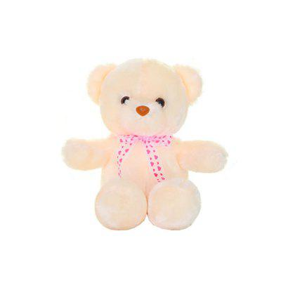 Cute Bear Style Plush Toy with Music Light