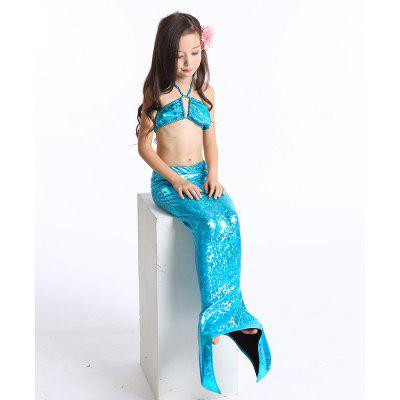 Mermaid Swimsuit Children Bikini New 2018 Girls SwimwearGirls swimwear<br>Mermaid Swimsuit Children Bikini New 2018 Girls Swimwear<br><br>Package Contents: 1 X Swimsuit<br>Pattern Type: Solid<br>Swimwear Type: Two-Pieces Separate<br>Waist: High Waisted<br>Weight: 0.2000kg
