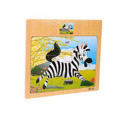 Children Jigsaw Puzzle Toy ZebraLogic &amp; Puzzle Toys<br>Children Jigsaw Puzzle Toy Zebra<br><br>Gender: Boys,Girls<br>Materials: Wood<br>Package Contents: 1 x Jigsaw Puzzle<br>Package size: 17.00 x 0.50 x 15.00 cm / 6.69 x 0.2 x 5.91 inches<br>Package weight: 0.0700 kg<br>Product weight: 0.0600 kg<br>Stem From: Other<br>Style: Other, Cartoon<br>Theme: Animals<br>Type: Jigsaw Puzzle
