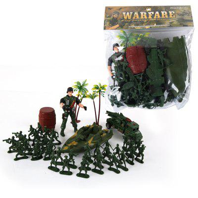 Children Island Military Model ToyMovies &amp; TV Action Figures<br>Children Island Military Model Toy<br><br>Completeness: Finished Goods<br>Gender: Boys,Girls,Kids<br>Materials: Plastic, ABS<br>Package Contents: 1 x Set of Toy<br>Package size: 26.00 x 6.00 x 30.00 cm / 10.24 x 2.36 x 11.81 inches<br>Package weight: 0.3000 kg<br>Product weight: 0.2900 kg<br>Stem From: Other<br>Theme: Military