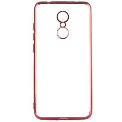 ASLING Transparent Back Case for Xiaomi Redmi 5 Electroplating TPU Soft Cover ProtectorCases &amp; Leather<br>ASLING Transparent Back Case for Xiaomi Redmi 5 Electroplating TPU Soft Cover Protector<br><br>Brand: ASLING<br>Color: Rose Gold,Black,Blue,Gold<br>Compatible Model: Redmi 5<br>Features: Back Cover<br>Mainly Compatible with: Xiaomi<br>Material: TPU<br>Package Contents: 1 x Protective Case<br>Package size (L x W x H): 21.00 x 12.00 x 1.30 cm / 8.27 x 4.72 x 0.51 inches<br>Package weight: 0.0230 kg<br>Style: Transparent