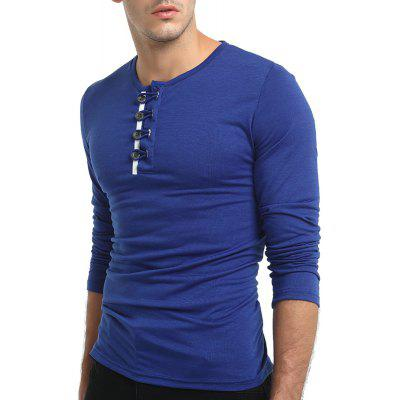 Personality Round Collar All-Match T-Shirts