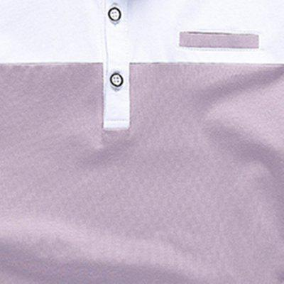 Half Sleeved and Short Sleeved POLO ShirtMens Short Sleeve Tees<br>Half Sleeved and Short Sleeved POLO Shirt<br><br>Collar: Turn-down Collar<br>Color Style: Contrast Color<br>Fabric Type: Broadcloth<br>Material: Cotton, Polyester<br>Package Contents: 1 x POLO Shirt<br>Pattern Type: Others<br>Sleeve Length: Short<br>Style: Casual<br>Type: Slim<br>Weight: 0.2500kg
