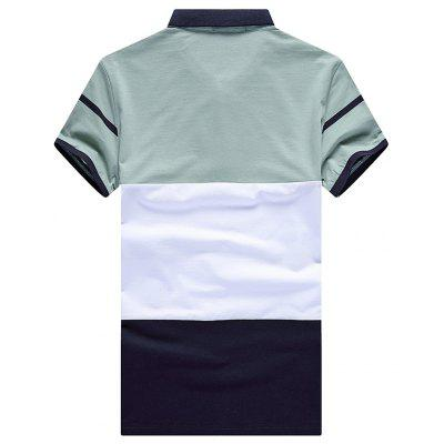 Casual Fashion All-Match Polo ShirtMens Short Sleeve Tees<br>Casual Fashion All-Match Polo Shirt<br><br>Collar: Turn-down Collar<br>Color Style: Contrast Color<br>Fabric Type: Broadcloth<br>Material: Cotton, Polyester<br>Package Contents: 1 xPolo shirt<br>Pattern Type: Others<br>Sleeve Length: Short<br>Style: Casual<br>Type: Slim<br>Weight: 0.3000kg