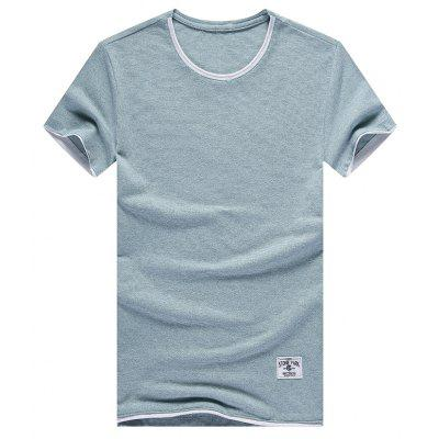 The Fashion Leisure All-Match Color T-Shirt
