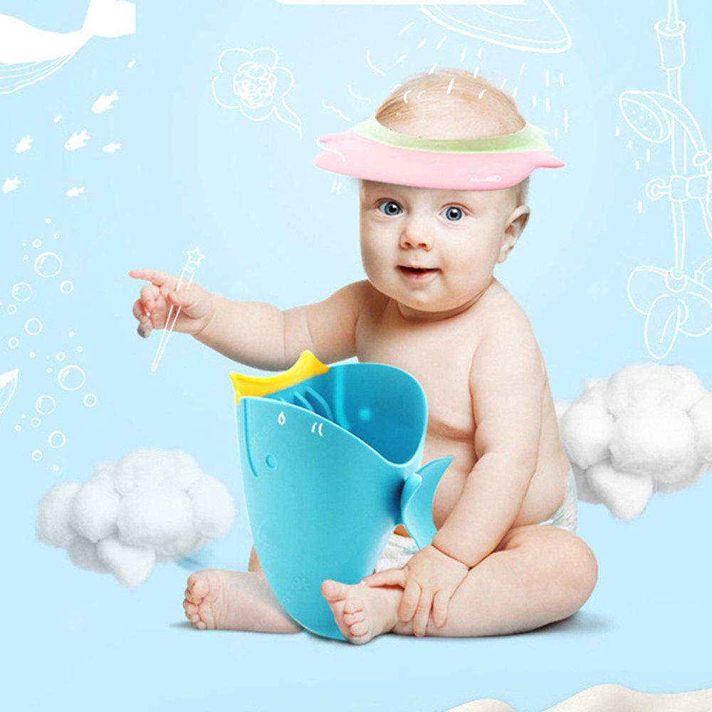 Whale Cartoon Baby Shower Water Scoop Bath Cup - $4.84 Free Shipping ...