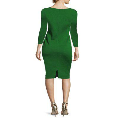 2018 New Pure Color Long Sleeved Buttocks DressBodycon Dresses<br>2018 New Pure Color Long Sleeved Buttocks Dress<br><br>Dresses Length: Ankle-Length<br>Elasticity: Micro-elastic<br>Fabric Type: Broadcloth<br>Material: Polyester<br>Neckline: Round Collar<br>Package Contents: 1 x Dress<br>Pattern Type: Solid<br>Season: Summer, Winter, Spring, Fall<br>Silhouette: Sheath<br>Sleeve Length: Long Sleeves<br>Style: Casual<br>Waist: Natural<br>Weight: 0.3000kg<br>With Belt: No