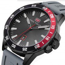 MINIFOCUS B1012  New Fashion Black Wrist Box Casual Quartz Steel Brand Top Men Sport Watches