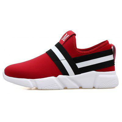 High Elastic Mesh PU Casual ShoesMen's Sneakers<br>High Elastic Mesh PU Casual Shoes<br><br>Available Size: 37  38 39 40 41 42  43 44<br>Closure Type: Elastic band<br>Feature: Breathable<br>Gender: Unisex<br>Lining Material: Satin<br>Outsole Material: PU<br>Package Contents: 1 x shoes(pair)<br>Package Size(L x W x H): 33.00 x 25.00 x 12.00 cm / 12.99 x 9.84 x 4.72 inches<br>Package weight: 1.0000 kg<br>Pattern Type: Patchwork<br>Season: Spring/Fall<br>Shoe Width: ExtraNarrow(AAA+)<br>Upper Material: Stretch Fabric
