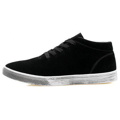 Pig Leather Rubber Sole Men Casual ShoesMen's Sneakers<br>Pig Leather Rubber Sole Men Casual Shoes<br><br>Available Size: 41 42 43 44<br>Closure Type: Lace-Up<br>Embellishment: None<br>Gender: For Men<br>Outsole Material: Rubber<br>Package Contents: 1 x shoes(pair)<br>Pattern Type: Solid<br>Season: Spring/Fall<br>Shoe Width: Medium(B/M)<br>Toe Shape: Round Toe<br>Toe Style: Closed Toe<br>Upper Material: Pigskin<br>Weight: 2.1450kg