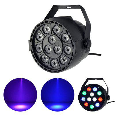 12pcs rgb leds led par stage lighting disco dj club effect wedding